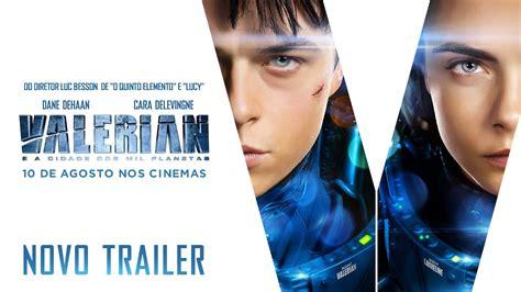 Valerian E A Cidade Dos Mil Planetas Trailer Legendado Agosto Nos Cinemas Youtube
