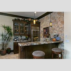 Del Sur Country House Wine Bar  Traditional  Home Bar