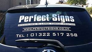 car rear window stickers advertising vinyl signs graphics With car vinyl lettering advertising
