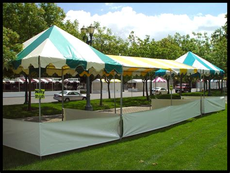 vendor canopy tent craft show  canopy package deal  sidewalls  weight