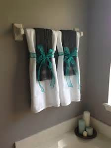 bathroom towel design ideas gray and turquoise bathroom for the home us turquoise and the guest