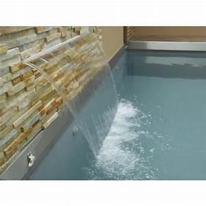 Lame D Eau Bassin : piscine avec lame d 39 eau carr bleu ~ Premium-room.com Idées de Décoration