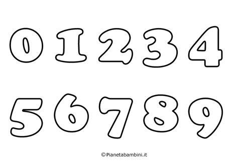 disegni da colorare con i numeri per bambini numeri da stare colorare e ritagliare per bambini
