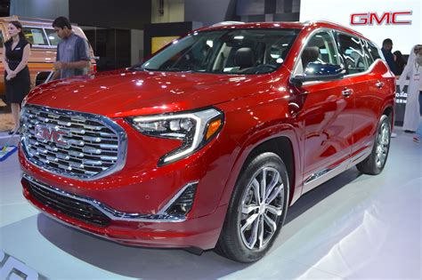 2018 Gmc Terrain Denali Showcased At The 2017 Dubai Motor Show