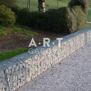 Mur De Cloture En Gabion : mur en gabion faible epaisseur pour cloture design ~ Edinachiropracticcenter.com Idées de Décoration