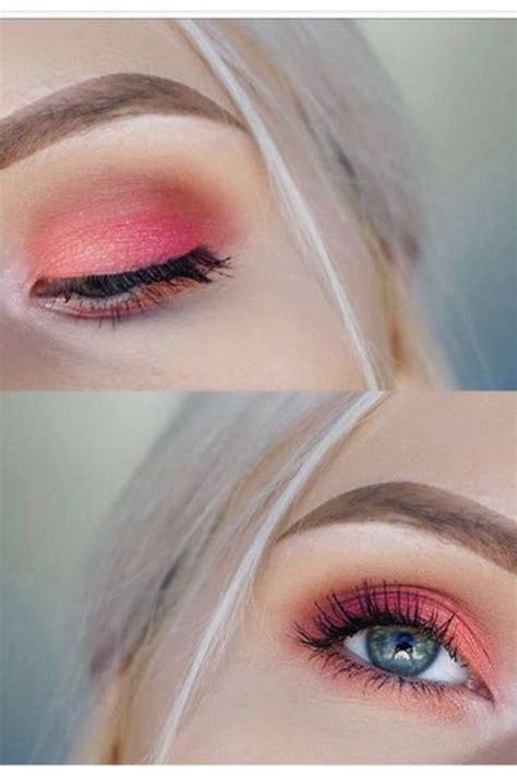 peach eyeshadow    fresh spring style
