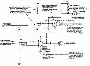 Figure 1 830 Warning Circuitry Schematic Diagram