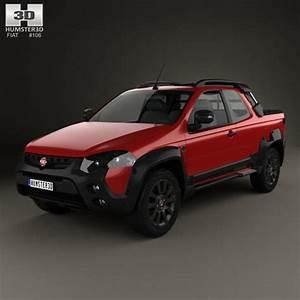 3d Model Fiat Strada Adventure Cd Extreme 2015