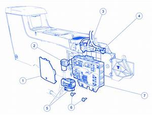 Mercury Marauder 2004 Under Center Dash Electrical Circuit Wiring Diagram  U00bb Carfusebox