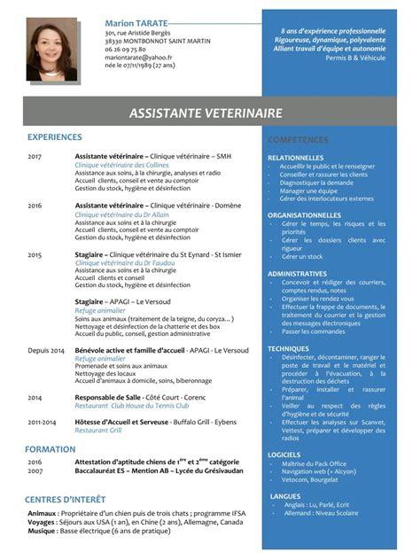 Formulaire De Cv Word by Marion Tarate Cv Assistante V 233 T 233 Rinaire Par T Bo Fichier Pdf