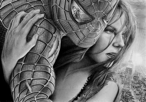20 Cool Spiderman Drawings Hative