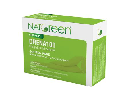 alimentazione drenante drena100 drenante detox e depurativo naturale natgreen