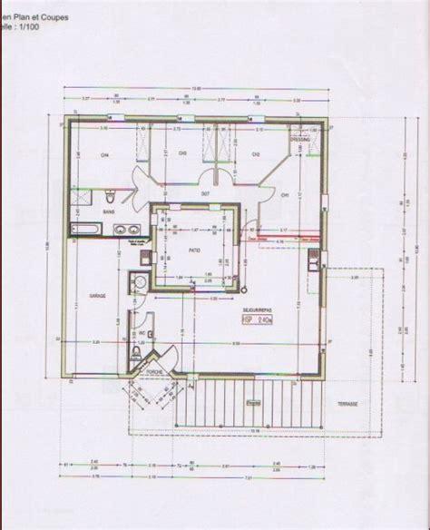 plan maison avec patio interieur 1000 id 233 es 224 propos de les plans de construction de la maison sur des conseils de