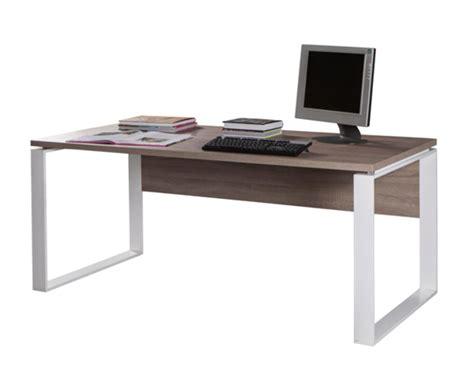 basika bureau bureau 170 ufficio chene sonoma fonce blanc