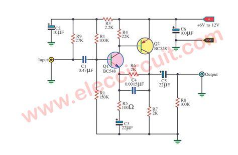 preamplifier circuits  transistors