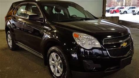 2014 Black Chevrolet Equinox Ls Sport Utility Review