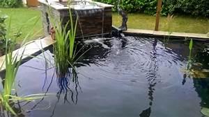 Lame D Eau Bassin : mon bassin lame d 39 eau en route youtube ~ Premium-room.com Idées de Décoration