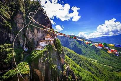 Bhutan Geluk Zoektocht Naar