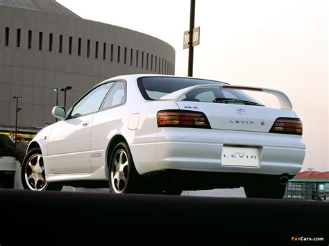 Pictures of Toyota Corolla Levin BZ-R (AE111) 1997–2000 ...