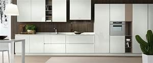 decorer cuisine toute blanche cuisine blanche design s With decorer cuisine toute blanche