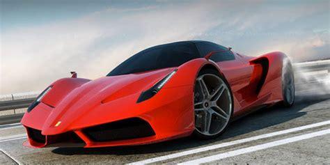 ferrari   hybrid sports car concept highsnobiety