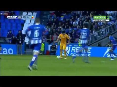 2015-2016 Deportivo La Coruna 0-8 Barcelona maç özeti tr.beinsports.com
