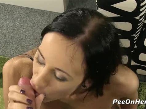 Piss Fuck Czech Brunette Drinks Piss During Sex Session