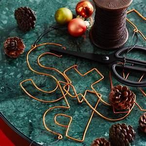 Basteln Draht Weihnachten : buchstaben aus draht living at home ~ Whattoseeinmadrid.com Haus und Dekorationen
