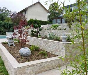 les 25 meilleures idees de la categorie parement pierre With photo de jardin de maison 13 decoration escalier exterieur