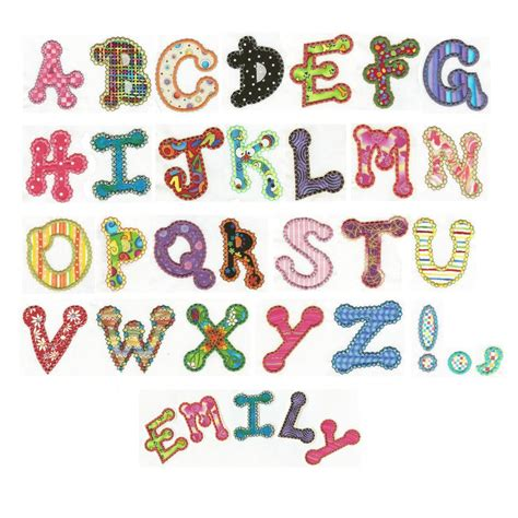 free applique designs 14 machine embroidery designs applique alphabet images