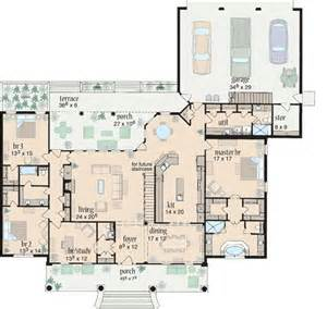 ranch style floor plans plan 8426jh split bedroom comfort house plans houses and craft rooms