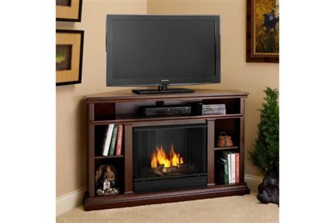Furniture. Marvelous Corner Fireplace Tv Stands Design