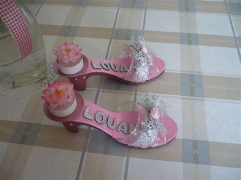 decoration bapteme theme princesse les portes bougie en forme de souliers de princesse dernier article du bapt 234 me sur un th 232 me