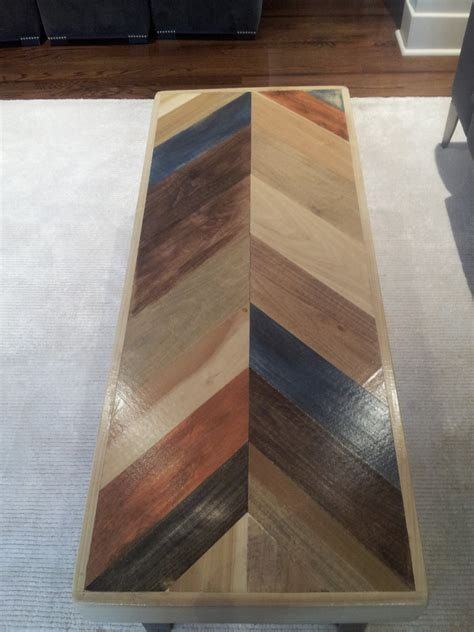 herringbone pattern pallet coffee table pallet furniture