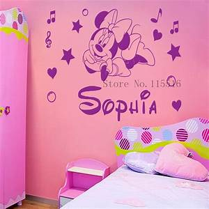G custom name personalised minnie mouse poster paper