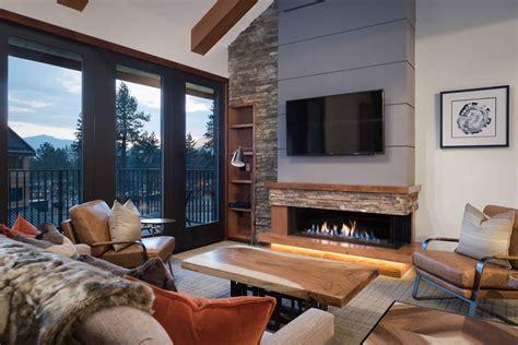 Modernes Wohnzimmer Mit Kamin by Photo Gallery Ortal Heat