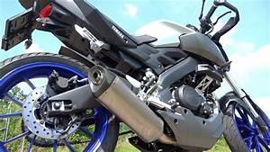 Yamaha Mt 125 Sportauspuff : yamaha mt 125 akrapovic exhaust sound with db killer only ~ Kayakingforconservation.com Haus und Dekorationen