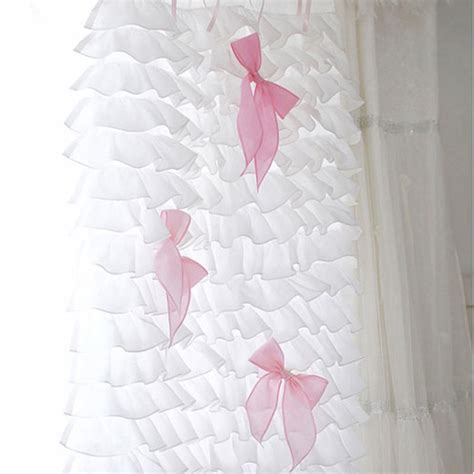 Purple Waterfall Ruffle Curtains by Ruffle Curtain