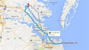 Virginia Beach VA Map