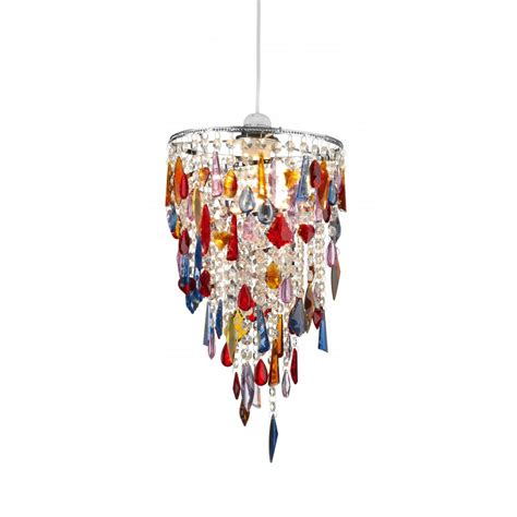 dar lighting non electric multi coloured glass