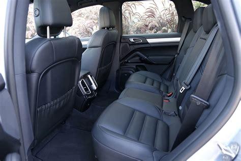 Cayenne Back Seat by 2017 Porsche Cayenne S E Hybrid Review Digital Trends