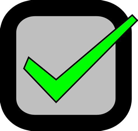 html checked nxt checkbox checked required clip art at clker com