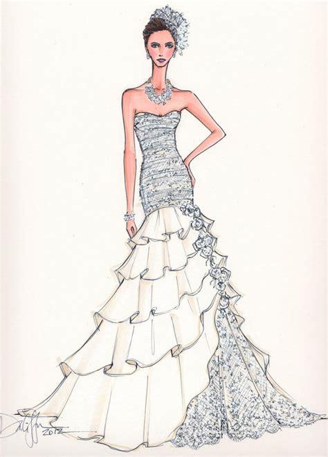 Custom Bridal Illustration Fashion Illustrations