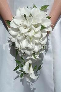 Shop Gorgeous White Calla Lily Jasmine Cascading Bridal
