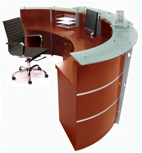 curved reception desks cherry reception desk in stock free shipping
