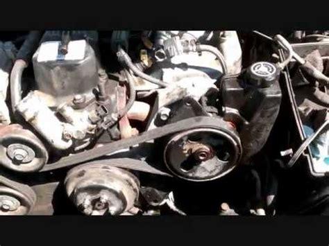 jeep cherokee supercharger belt change