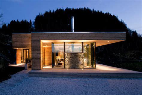 maison en u bois