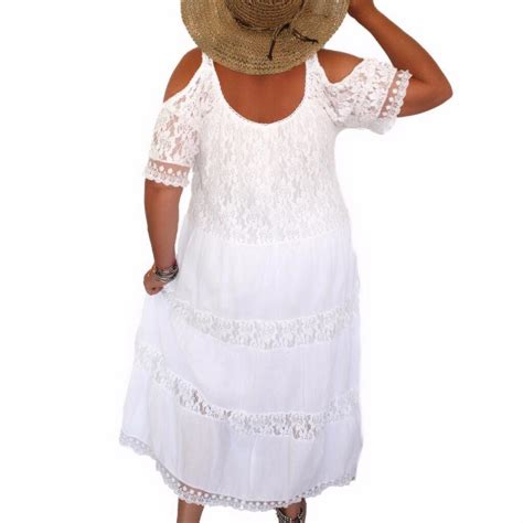 robe dentelle blanche grande taille robe grande taille femme v 234 tements grandes tailles