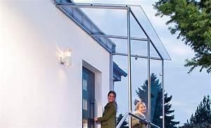 Glasvordach Mit Seitenteil : bauanleitung vordach selber bauen bauplan auf ~ Buech-reservation.com Haus und Dekorationen