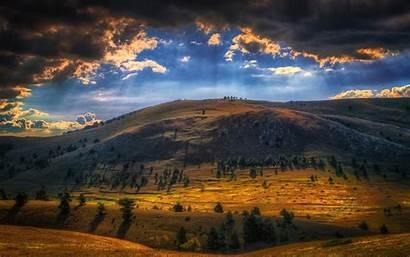 Landscape Mountain Sun Nature Italy Rays Desktop